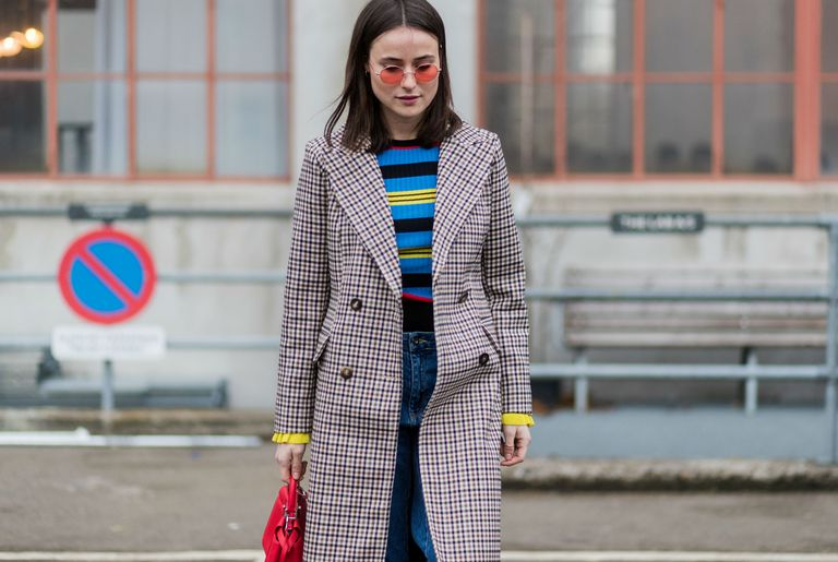 Stradă style denim and stripes