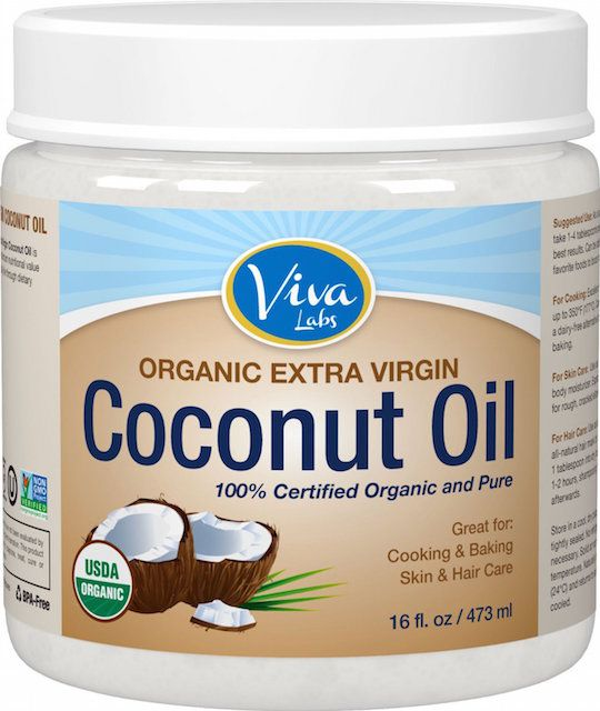 živio Labs The Finest Organic Extra Virgin Coconut Oil