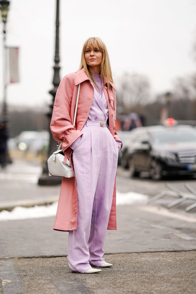 Улица Style - Pink On Purple Outfit