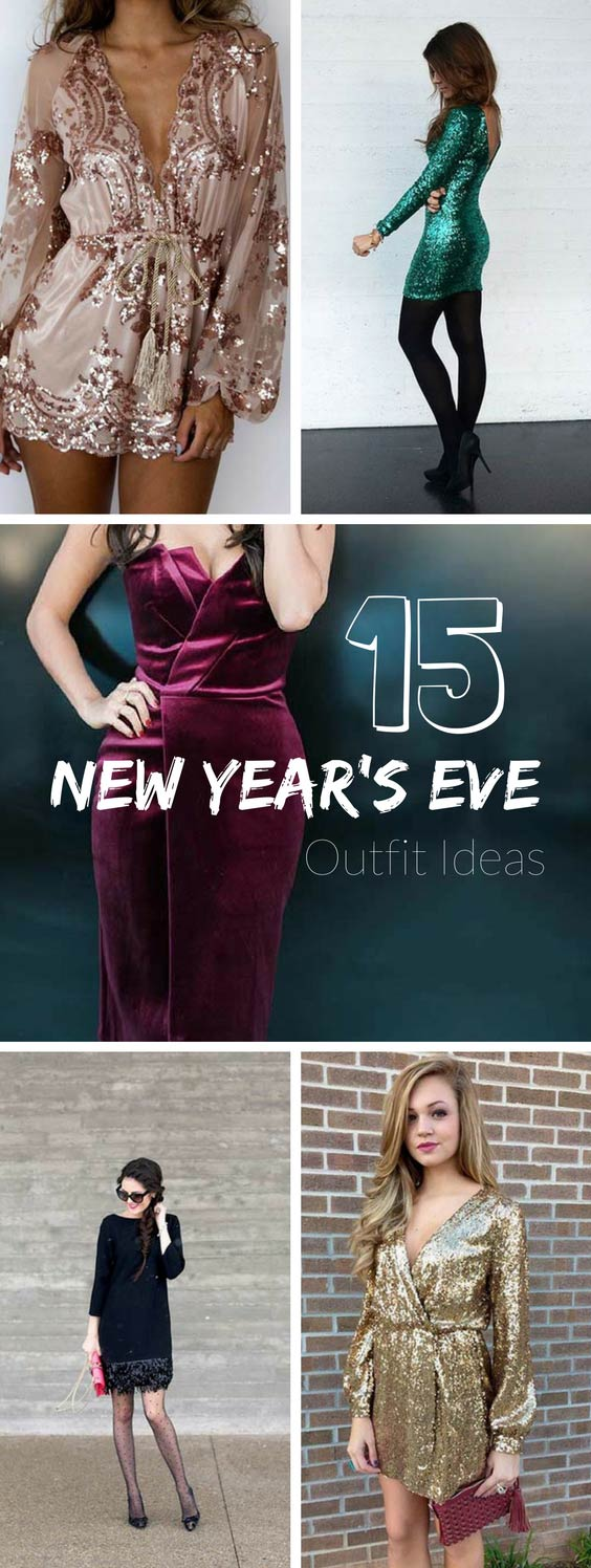 15 New Year's Eve Outfit Ideas