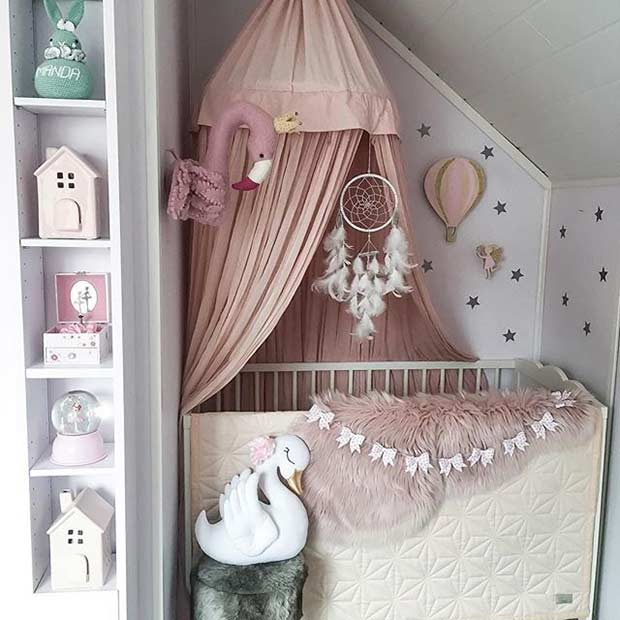Мали Nursery Idea for a Baby Girl