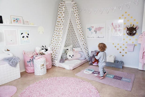 Гирли Playroom Idea for Toddlers