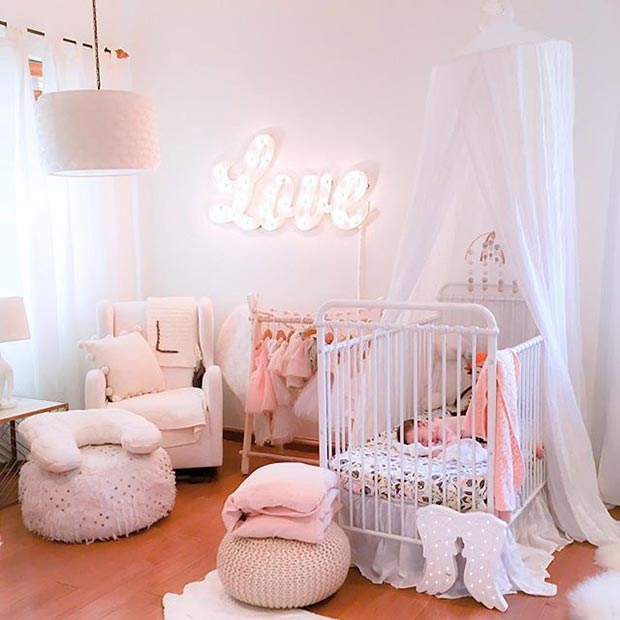 Принцеза Nursery Idea for a Baby Girl