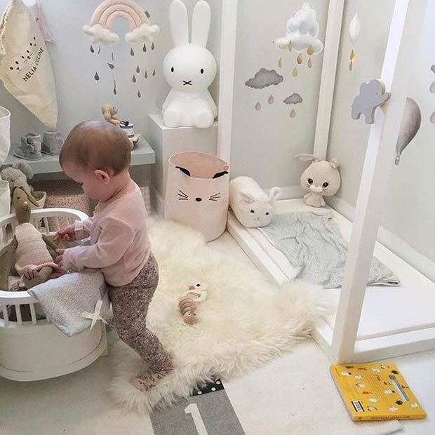 Мали and Creative Playroom Idea for a Baby