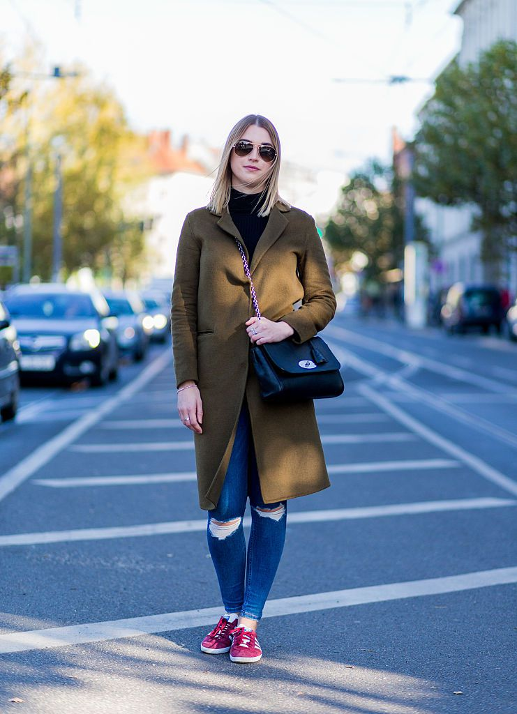 utca style jeans and coat