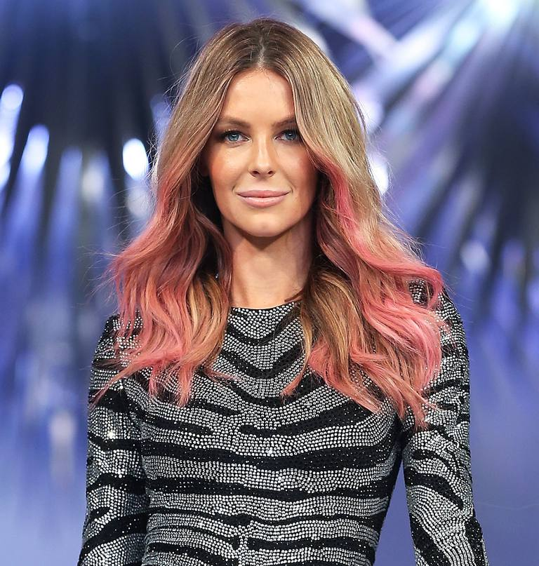 Jennifer Hawkins in Pink Hair