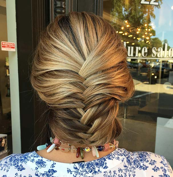 Фисхтаил Braid Updo for Beautiful Braided Updos