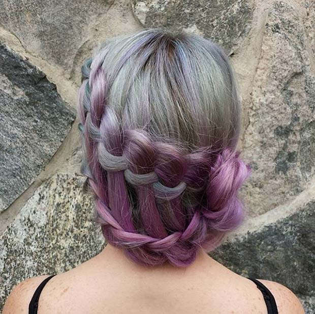 Водопад Ladder Braid for Beautiful Braided Updos