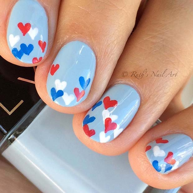 Lepo 4th of July Nail Art Design
