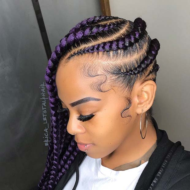 Живахан Purple Lemonade Braids