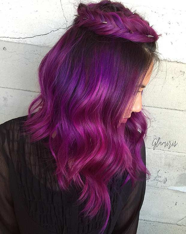 Sylt Velvet Hair Color Idea