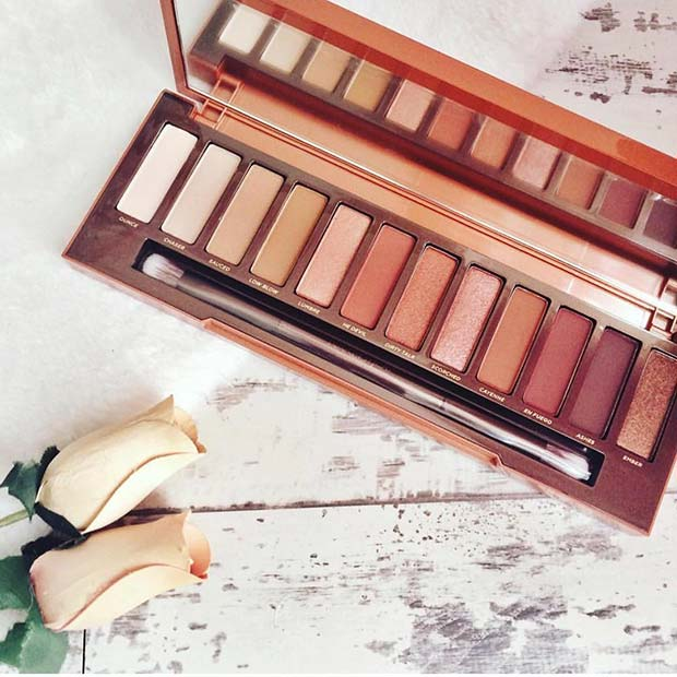 Városi Decay Naked Heat Palette