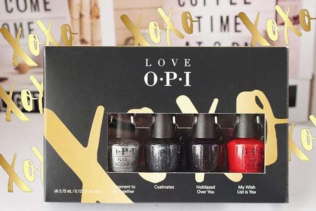 OPI Christmas Nail Polishes