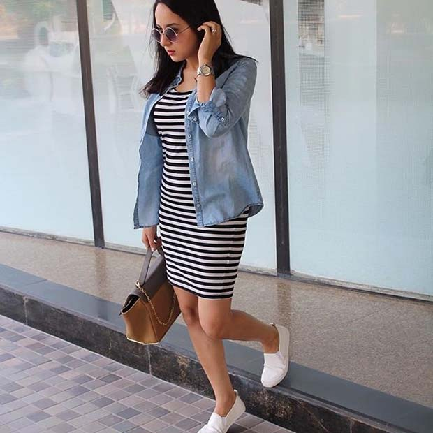 אַגָבִי Dress and Shirt for Casual Summer Outfits