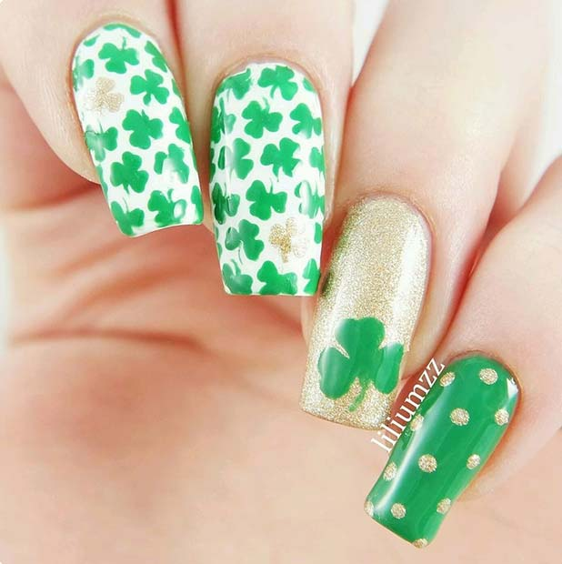 Polka Dots and Shamrocks