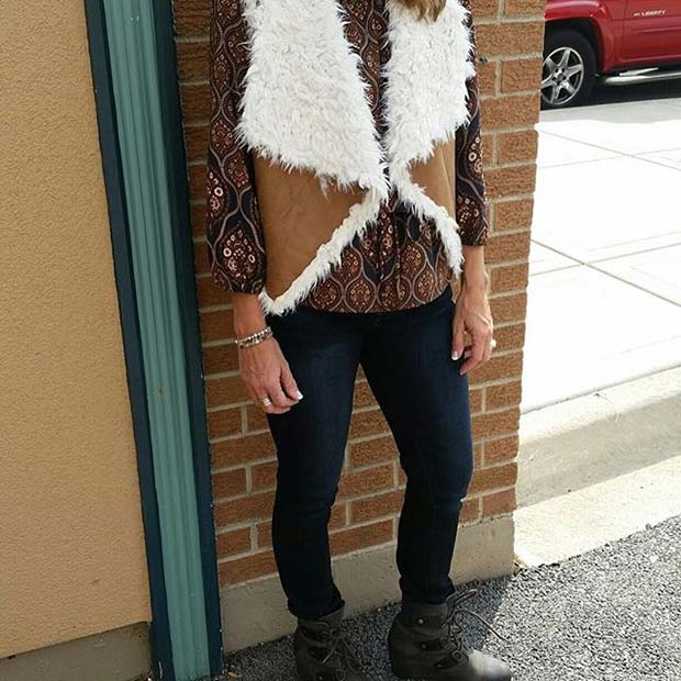 Falla Faux Fur for Cute Fall 2017 Outfit Ideas