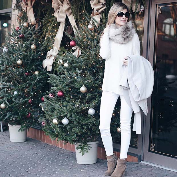 Téli White for Cute Outfits to Copy This Winter