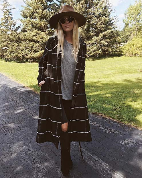divatba jövő Long Coat for Cute Outfits to Copy This Winter