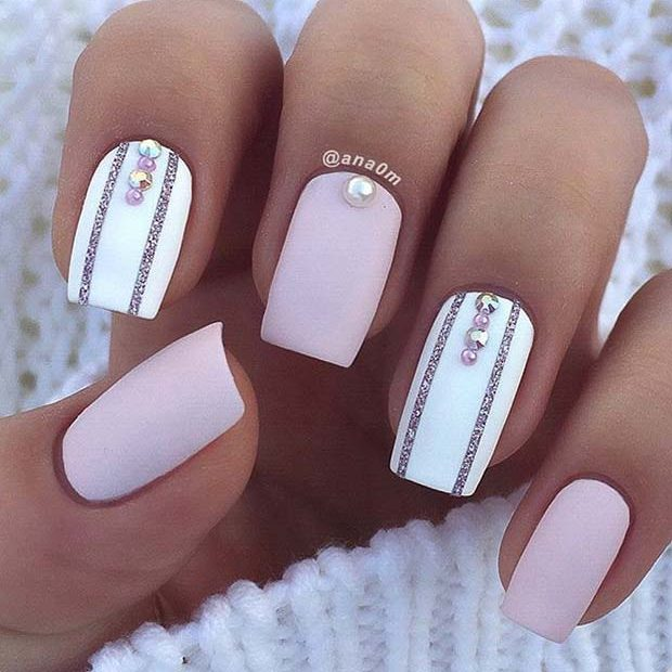 alb Accent Nails for Elegant Nail Designs for Short Nails