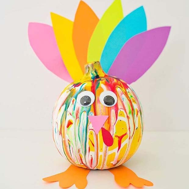 Roligt Turkey Craft for Thanksgiving Crafts