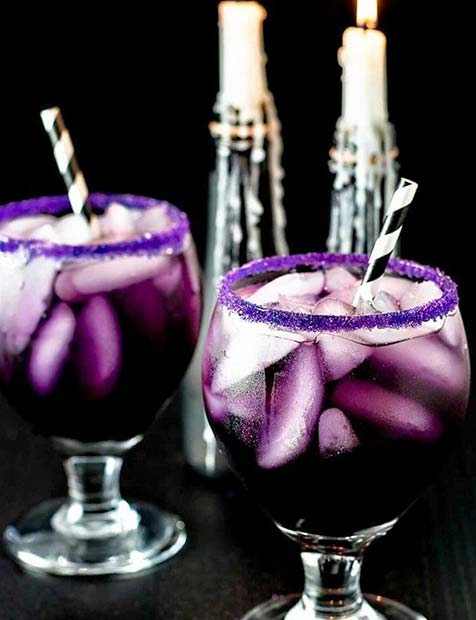 สีม่วง Halloween Drinks for Halloween Party Drinks