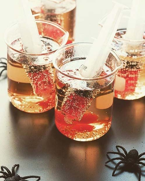 เข็มฉีดยา Shots for Halloween Party Drinks