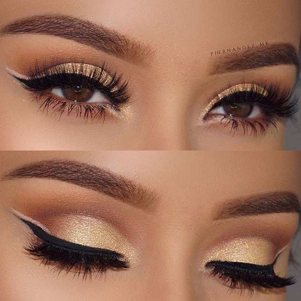 Zlato Eye Makeup and Double Eyeliner Look for Prom