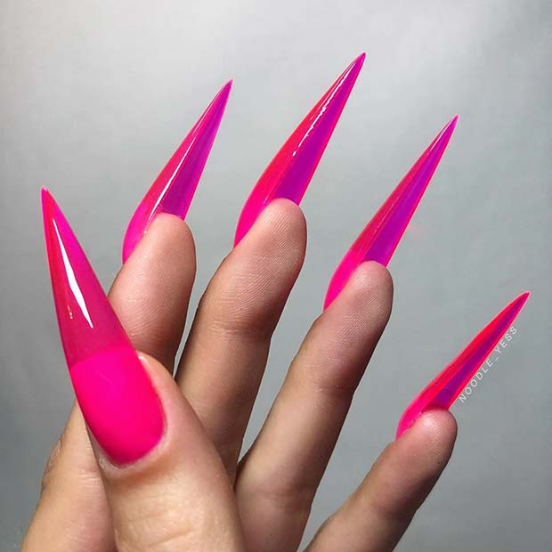 izjava Stiletto Jelly Nails