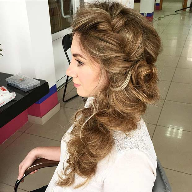 Mare Voluminous Side Braid Hairstyle