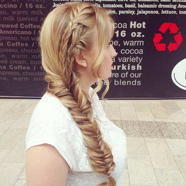 Împletit Prom Hairstyle for Long Hair