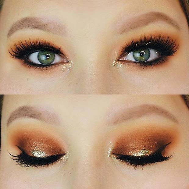 कद्दू Spice Eye Makeup for Fall Makeup Looks