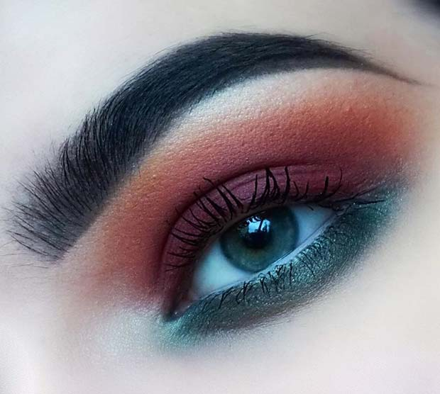Sonbahar Eye Makeup for Fall Makeup Looks