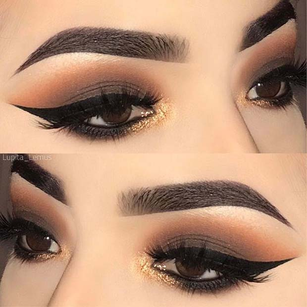 Dramatik Smokey Eyes for Fall Makeup Looks