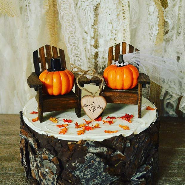 Bundeva Wedding Cake for Fall Wedding Ideas