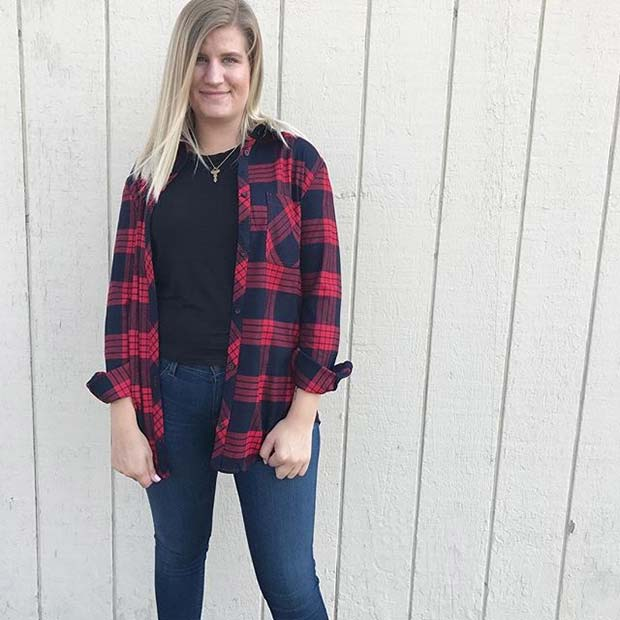 Лако to Wear Flannel for Flannel Outfit Ideas for Fall