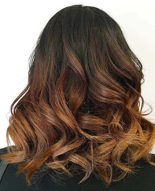 mrak Ombre With Light Brown for Brunettes