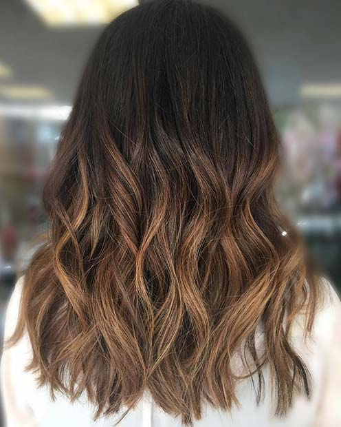 Karamela Ombre for Brunettes