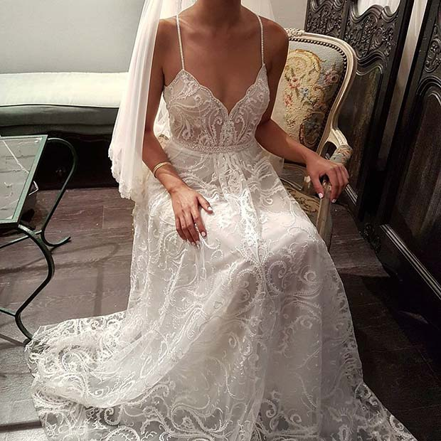Деликатна and Detailed Sleeveless Dress for Summer Wedding Dresses for Brides