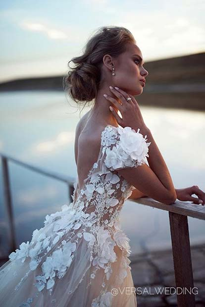 Лепа Embellished Dress for Summer Wedding Dresses for Brides