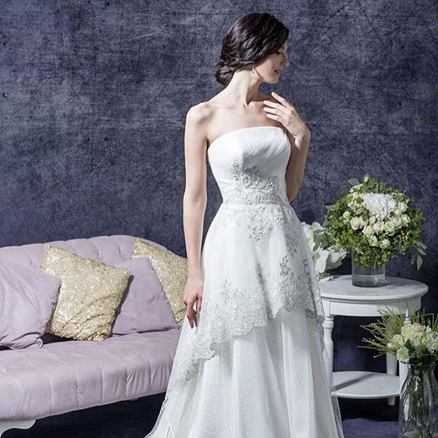 Прилично Sleeveless Dress for Summer Wedding Dresses for Brides