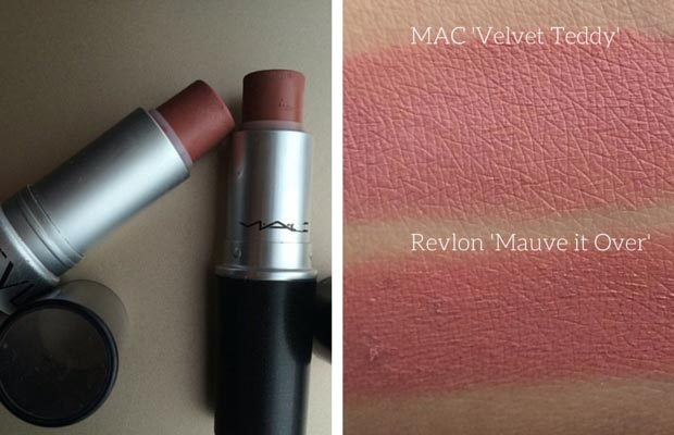 रेवलॉन Dupe MAC Velvet Teddy