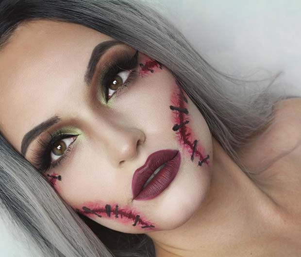 Vrăjitoare Halloween Makeup for Best Halloween Makeup Ideas