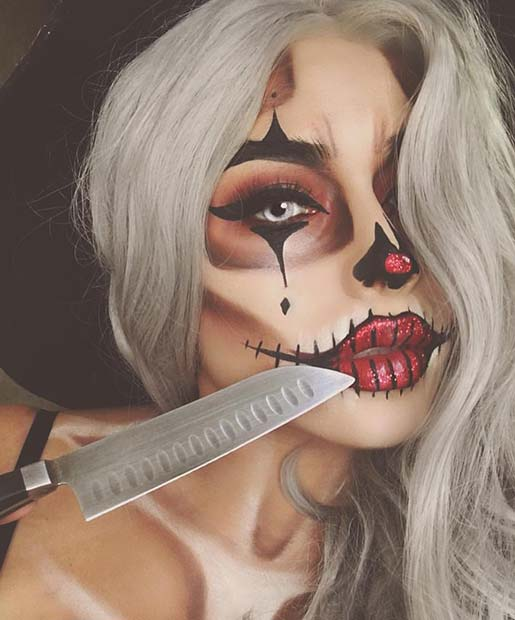 Halloween Clown for Best Halloween Makeup Ideas