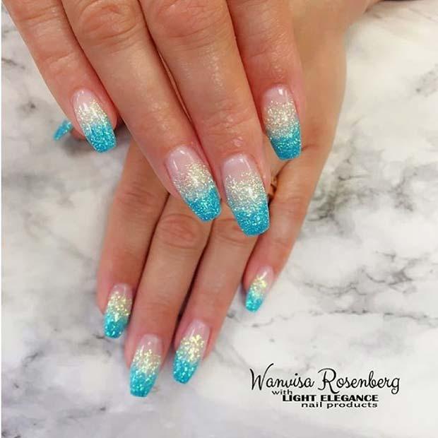snygga sommar naglar