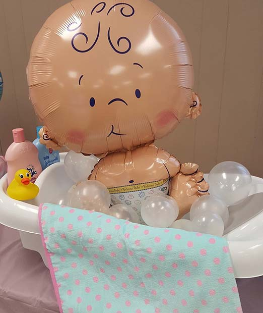 תִינוֹק Shower Balloon Gift or Decor Idea