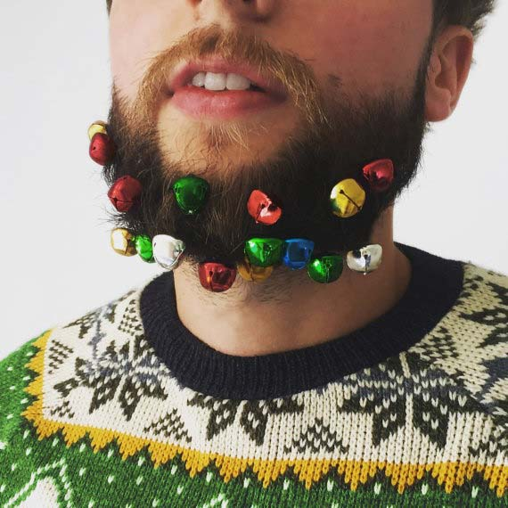 नवीनता Beard Baubles Christmas Gift