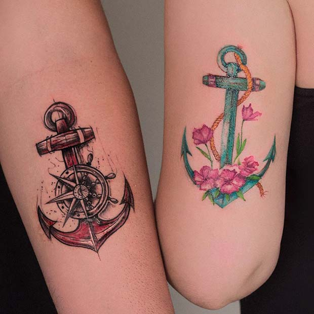 polubrat Anchor Tattoo Ideas