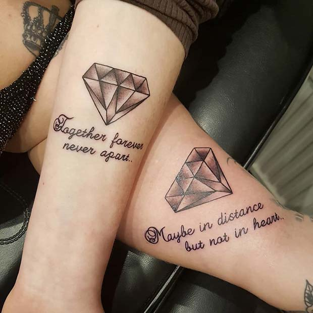 सार्थक Forever Together BFF Tattoos