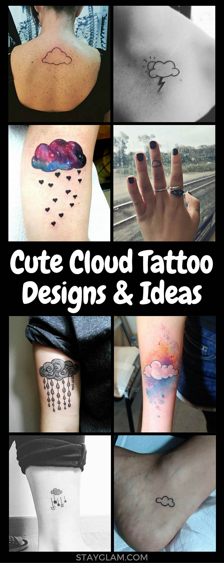 Lepo Cloud Tattoo Designs and Ideas