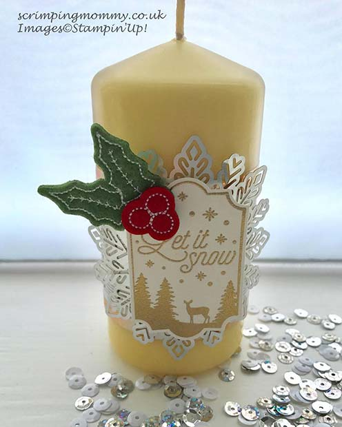 חַג הַמוֹלָד Candle for DIY Christmas Gift Ideas